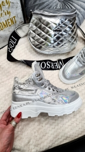 Sneakersy Silver Ocieplane