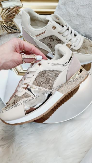 Adidasy Damskie Złoto Beż Serena