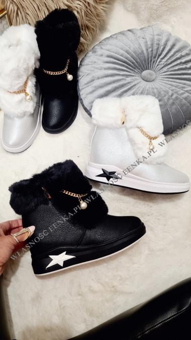 Sneakersy Futro Star