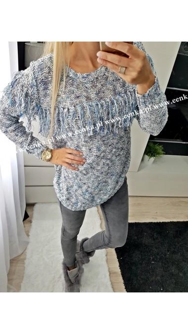 Sweterek frędzle 3 kolory