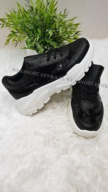Hologramowe Adidasy Czarne