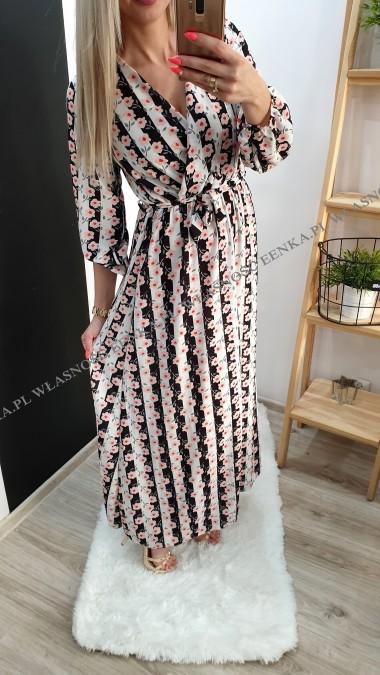 Sukienka MAXI 3 Wzory
