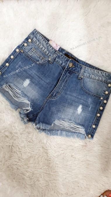 Spodenki Jeans Perły