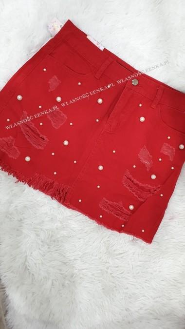 Spódniczka Perły Czerwona