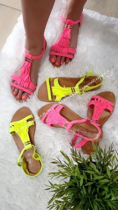 Damskie Sandałki NEON 2 kolory