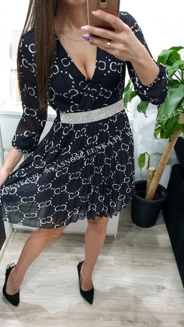 Sukienka CC Czarna S-XL