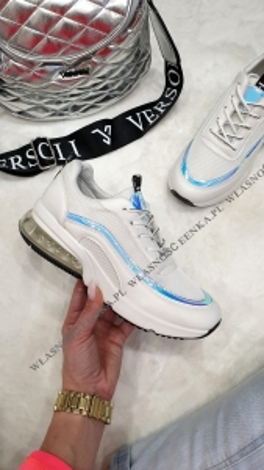 Adidasy Luna Holo Białe