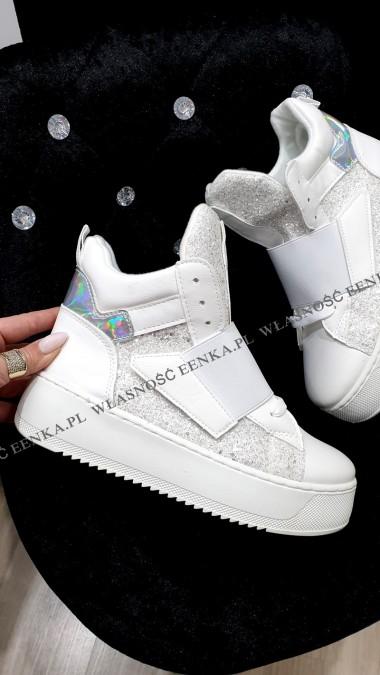 Sneakersy White Holo