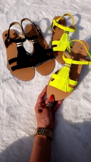 Sandałki Frędzle 2 kolory